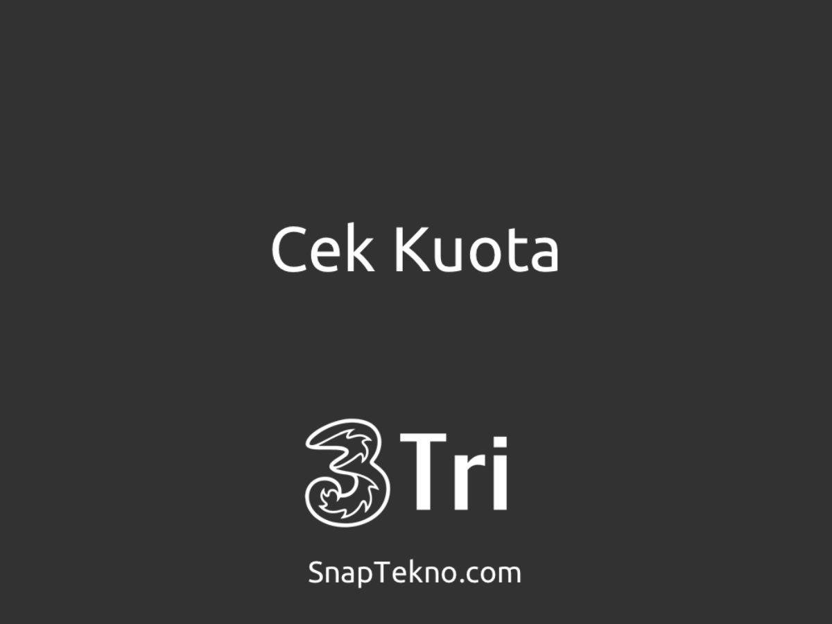 4 Cara Simpel Cek Kuota Tri 3 Di Android Dan Iphone